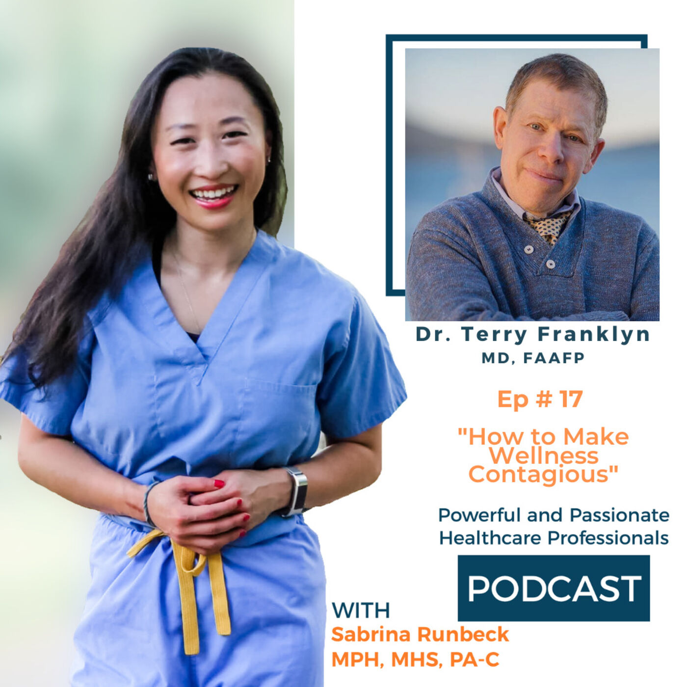 Ep 17 - How to Make Wellness Contagious with Dr. Terry L Franklin